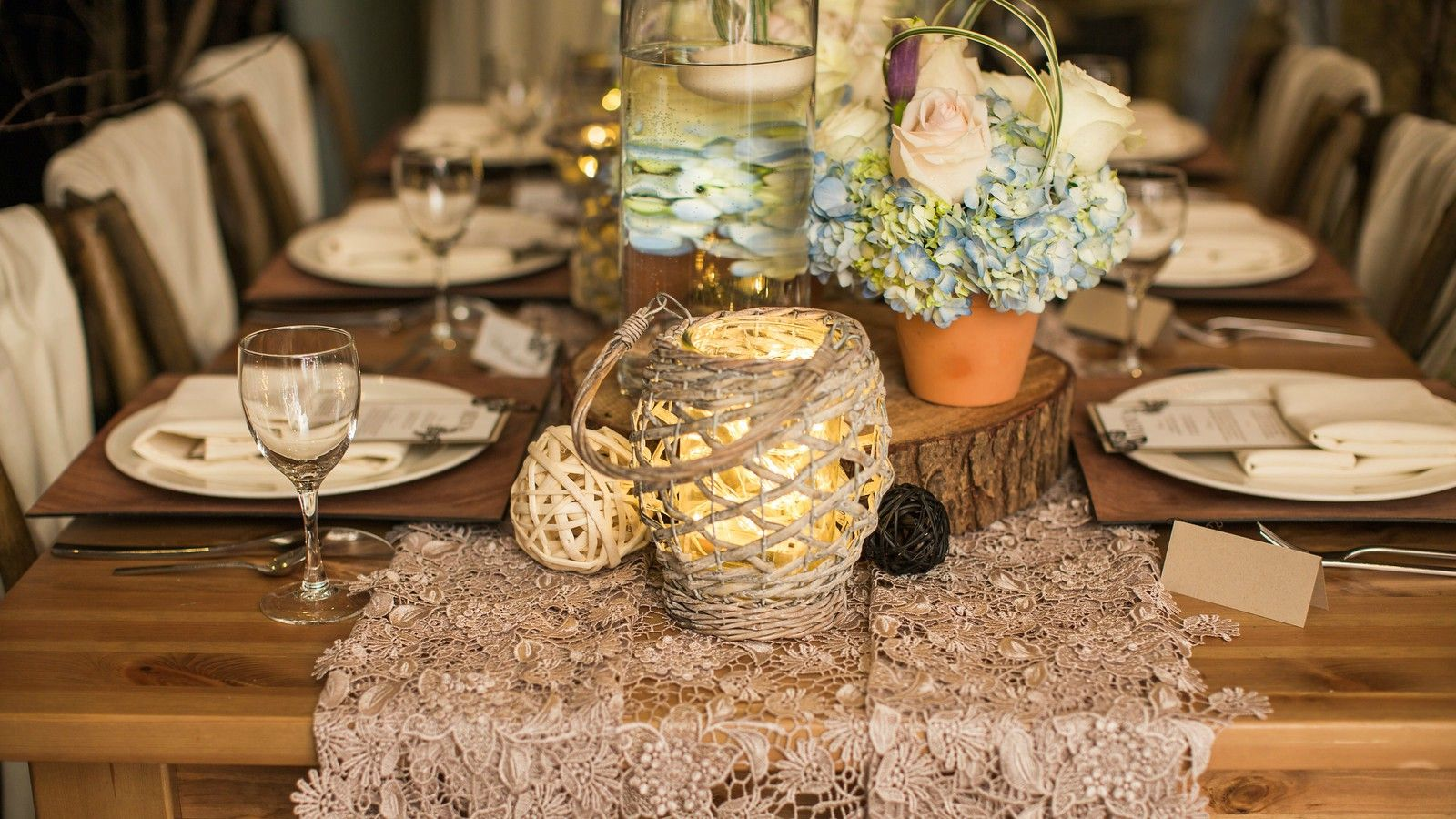 Vancouver Wedding Venues - Table Setting