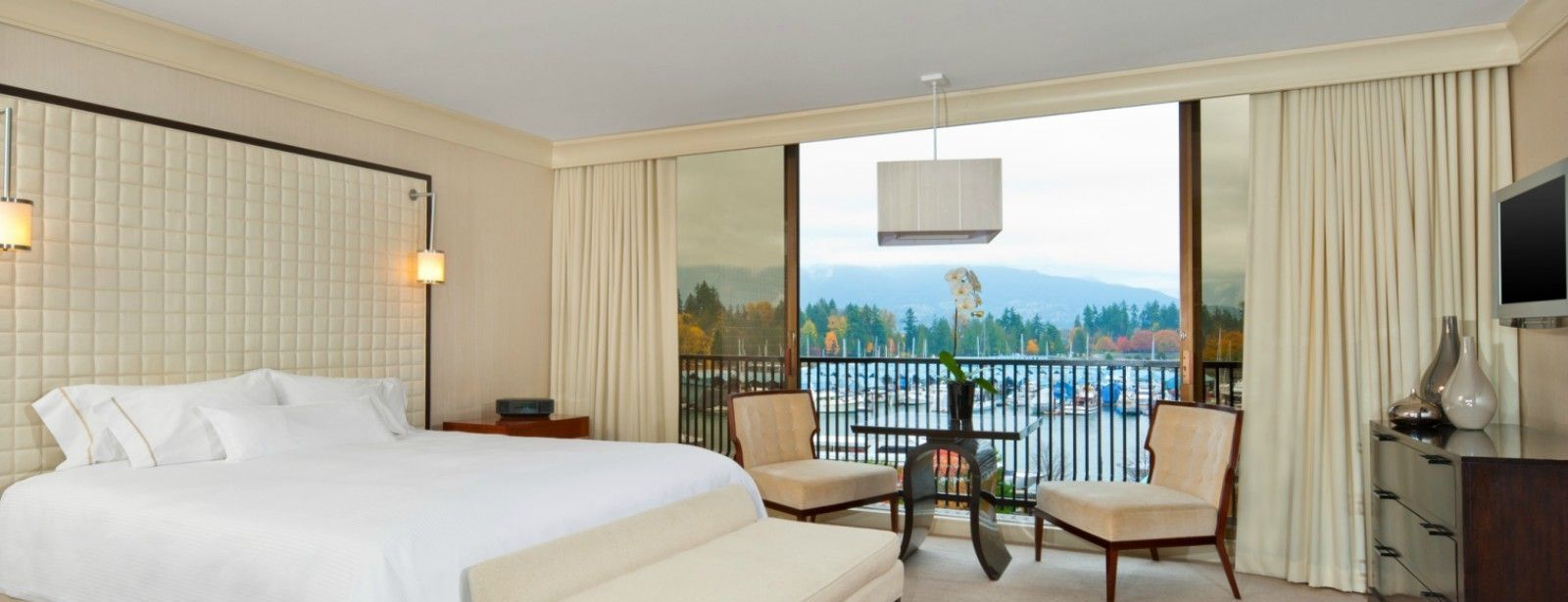 The Westin Bayshore, Vancouver - International Suite Bedroom