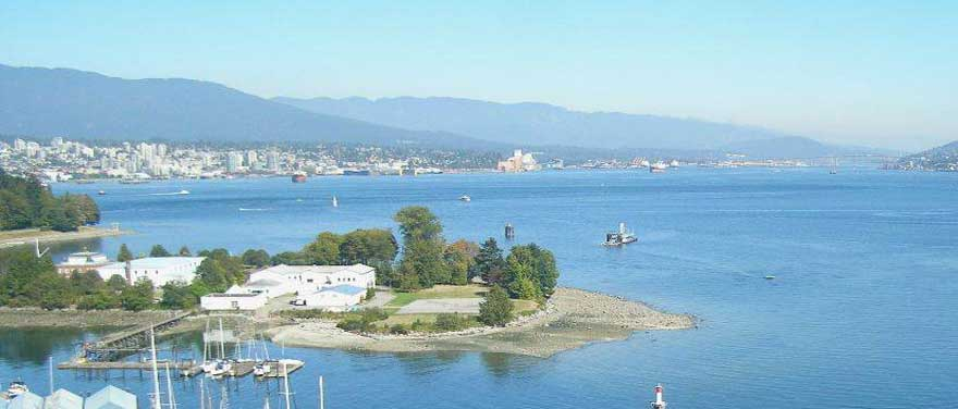 A favourite view of Vancouver's bayshore from The Westin Bayshore, Vancouver